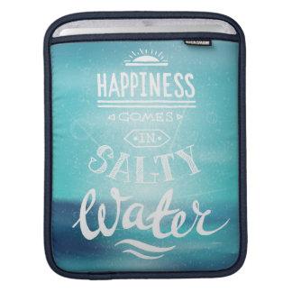 Housse Pour iPad Le bonheur vient dans l'eau salée