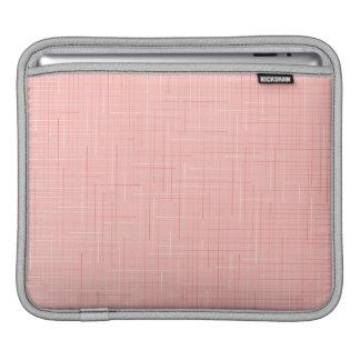 Housse Pour iPad Ligne rose conception de pêche de douille d'iPad