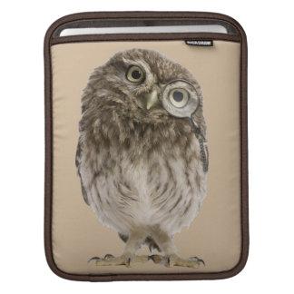 Housse Pour iPad Loupe de port adorable de petit hibou