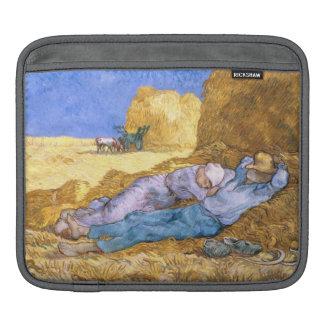 Housse Pour iPad Midi de Vincent van Gogh  , la sièste, après