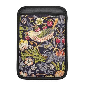 Housse Pour iPad Mini Art floral Nouveau de voleur de fraise de William