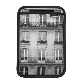 Housse Pour iPad Mini Bâtiment vintage noir et blanc du voyage | à Paris