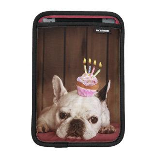 Housse Pour iPad Mini Bouledogue français avec le petit gâteau