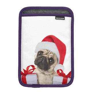 Housse Pour iPad Mini Cadeaux de carlin - chien Claus - carlins drôles -