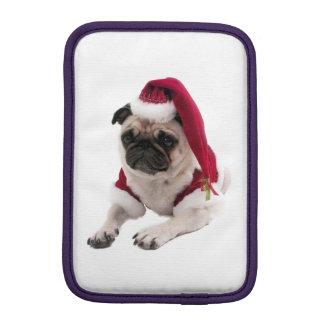 Housse Pour iPad Mini Carlin de Noël - chien du père noël - poursuivez