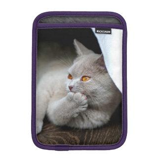 Housse Pour iPad Mini Chat britannique - chat drôle - chat gris