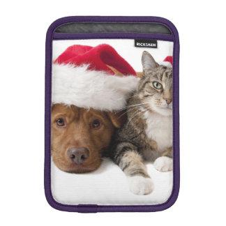 Housse Pour iPad Mini Chats et chiens - chat de Noël - chien de Noël