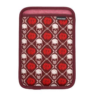 Housse Pour iPad Mini crâne et roses