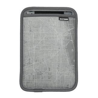 Housse Pour iPad Mini Croquis de carte de ville de Chicago