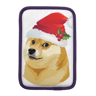 Housse Pour iPad Mini Doge de Noël - doge de père Noël - chien de Noël