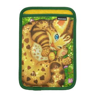Housse Pour iPad Mini Douilles d'iPad de chat de léopard