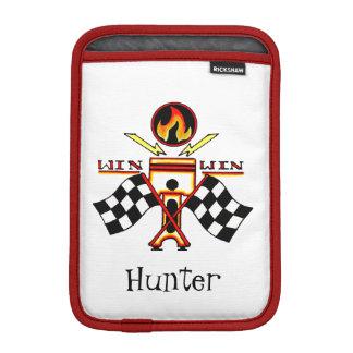 Housse Pour iPad Mini Drapeau de emballage Checkered du piston des