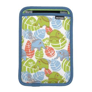 Housse Pour iPad Mini Éléphants colorés de jungle