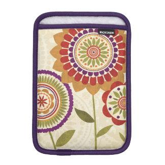 Housse Pour iPad Mini Fleurs contemporaines d'automne