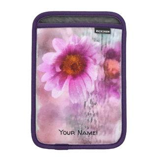 Housse Pour iPad Mini Fleurs pourpres
