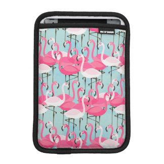 Housse Pour iPad Mini Foule rose et blanche des flamants
