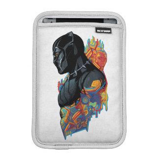Housse Pour iPad Mini Graffiti de tribal de panthère noire de la