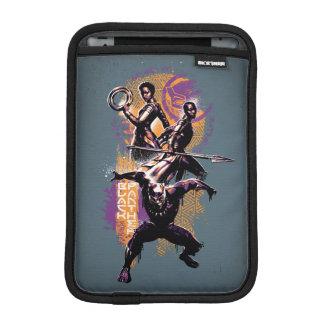 Housse Pour iPad Mini Guerriers de la panthère noire | Wakandan peints