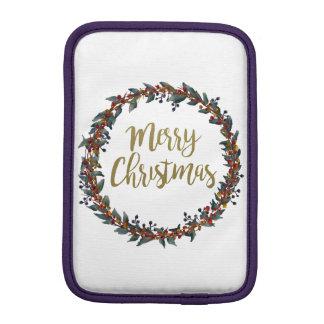 Housse Pour iPad Mini Guirlande d'aquarelle - Joyeux Noël - branches