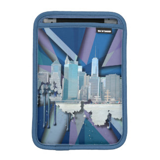 Housse Pour iPad Mini Horizon | 3D bleu de New York City