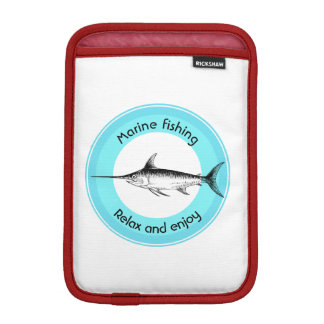 Housse Pour iPad Mini La pêche marine détendent et apprécient
