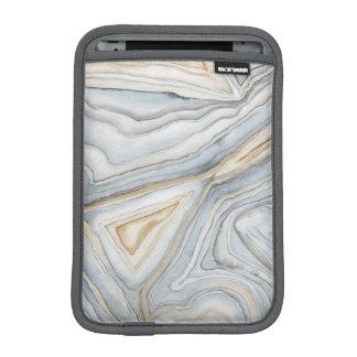 Housse Pour iPad Mini Le gris a marbré la conception abstraite