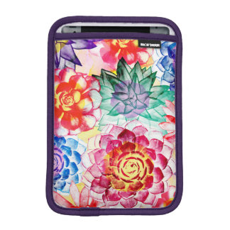 Housse Pour iPad Mini Le Succulent coloré plante l'aquarelle mignonne