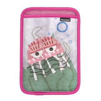 Housse Pour iPad Mini Les méduses peignent la mini douille de