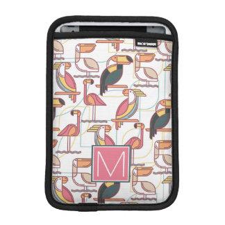Housse Pour iPad Mini Modelez avec les oiseaux tropicaux que | ajoutent