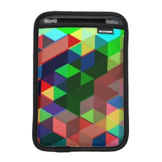 Housse Pour iPad Mini Motif géométrique audacieux de cube