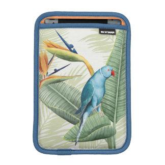 Housse Pour iPad Mini Palmettes avec l'oiseau bleu