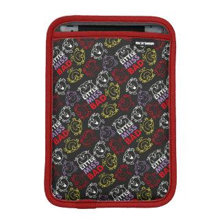 Housse Pour iPad Mini Petite Mlle Bad | motif noir, de rouge et de jaune