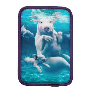 Housse Pour iPad Mini Plage de porc - porcs de natation - porc drôle