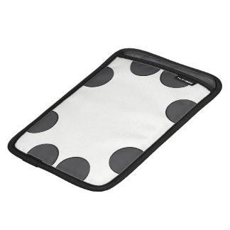 Housse Pour iPad Mini Points gris-foncé Checkered