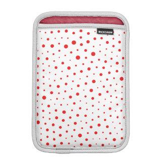 Housse Pour iPad Mini Pois moderne élégant - personnaliser Rouge BG