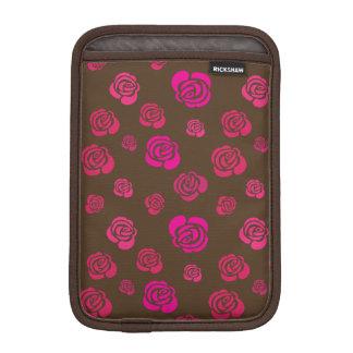 Housse Pour iPad Mini Roses roses et magenta rouges dans un motif fleuri