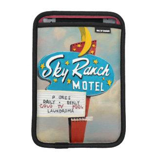 Housse Pour iPad Mini Signe de motel de ranch de ciel