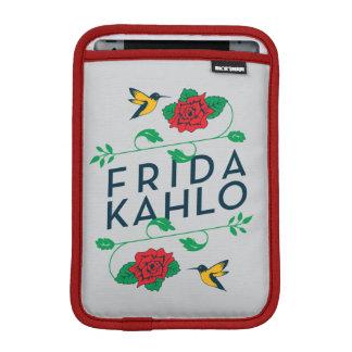 Housse Pour iPad Mini Typographie florale de Frida Kahlo  