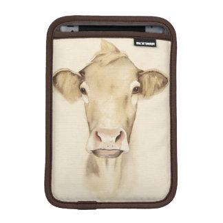 Housse Pour iPad Mini Vache aux animaux | de grange d'aquarelle
