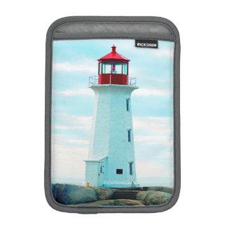 Housse Pour iPad Mini Vieux phare, océan bleu, maritime, nautique