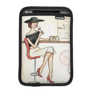Housse Pour iPad Mini Vin potable de femme à la mode
