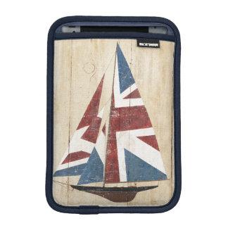 Housse Pour iPad Mini Voilier britannique de drapeau