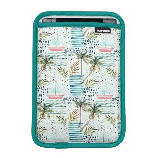 Housse Pour iPad Mini Voilier d'aquarelle avec le motif de palmier