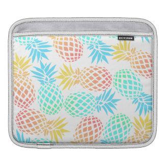 Housse Pour iPad motif coloré tropical d'ananas d'été élégant