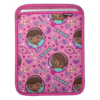 Housse Pour iPad Motif de rose de soin de Doc. McStuffins | I