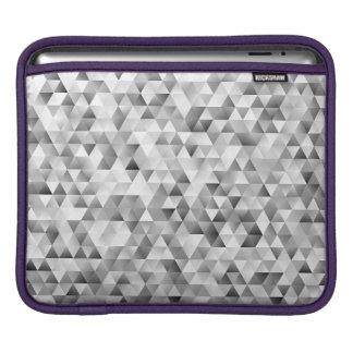 Housse Pour iPad Motif gris de triangle