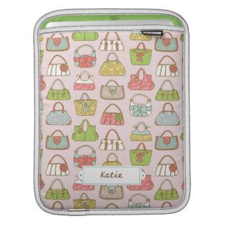Housse Pour iPad Motif mignon et coloré d'illustration de sacs