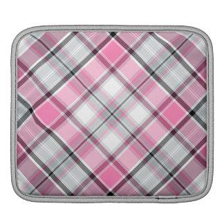 Housse Pour iPad Motif rose de plaid chic
