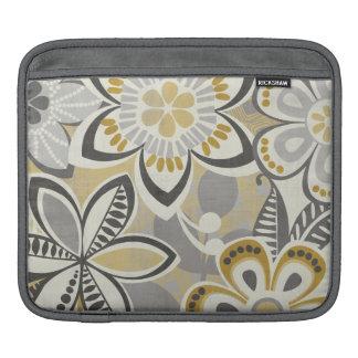 Housse Pour iPad Motifs floraux contemporains