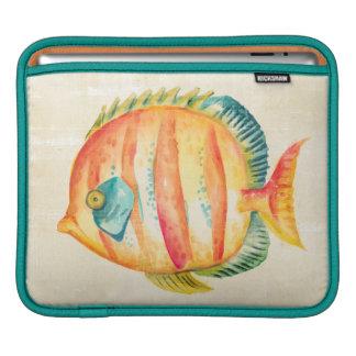 Housse Pour iPad Poissons colorés d'aquarium